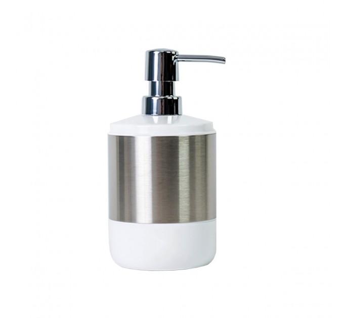 Дозатор для жидкого мыла Prima Nova LIMA XL, белый (SA06-01) - фото № 1