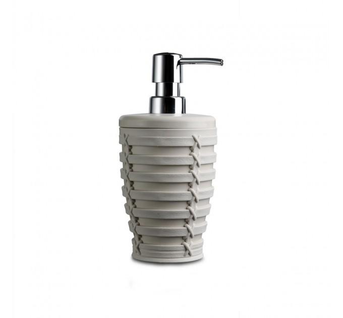 Дозатор для жидкого мыла Prima Nova PALM, бежевый (E57-09) - фото № 1