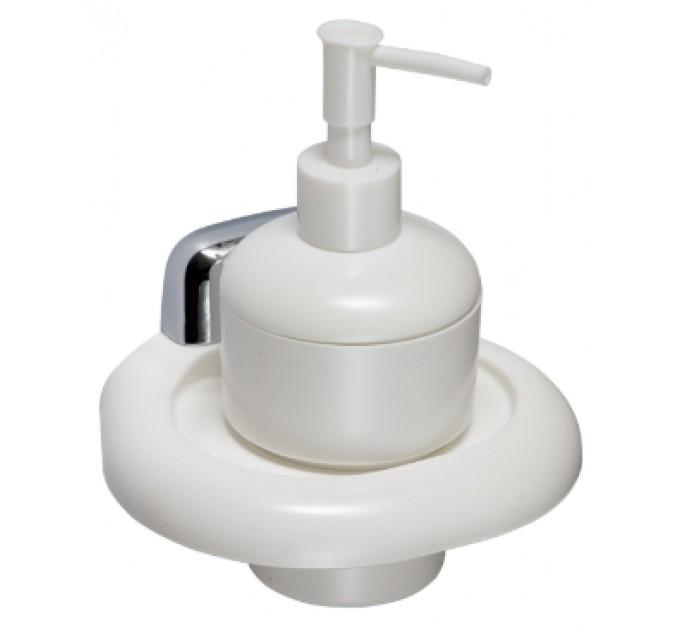Дозатор для жидкого мыла настенный Prima Nova, белый (24111-P) - фото № 1
