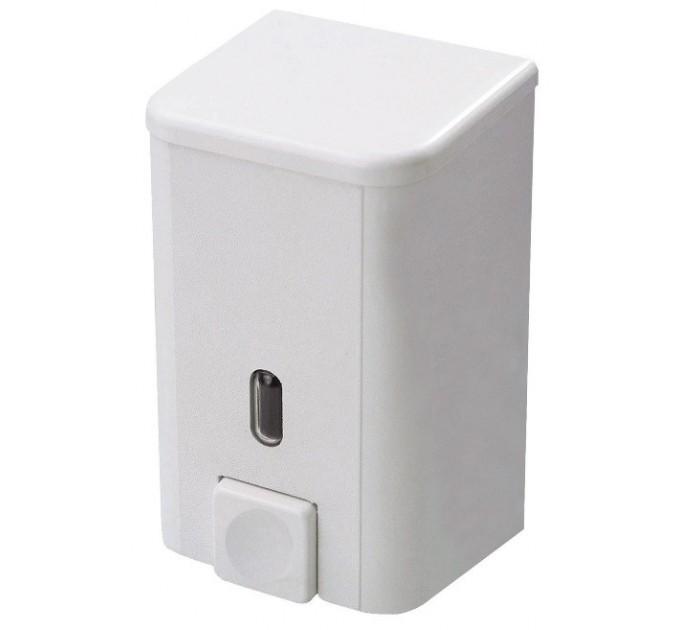 Дозатор для жидкого мыла Prima Nova BRAVO 0,5 л, белый (SD01) - фото № 1