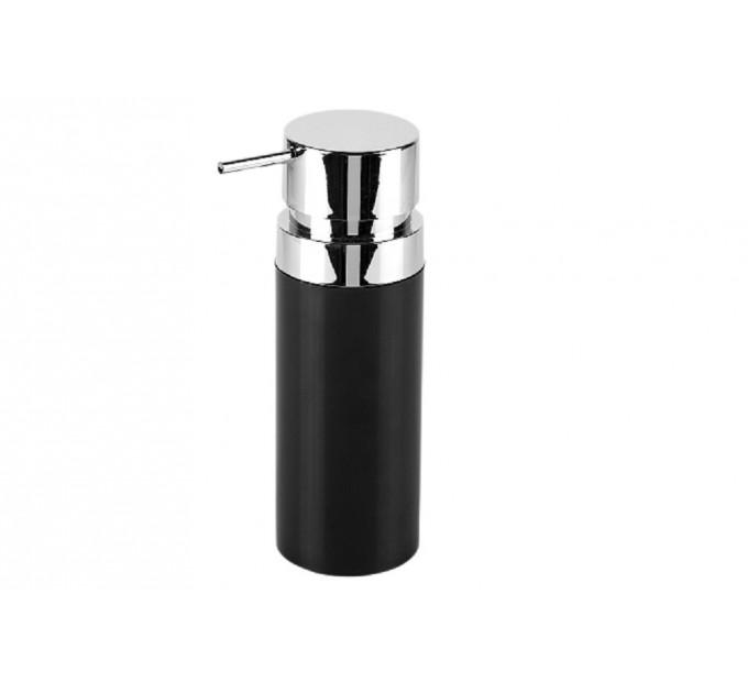 Дозатор для жидкого мыла Prima Nova LENOX, черный (E31-06) - фото № 1
