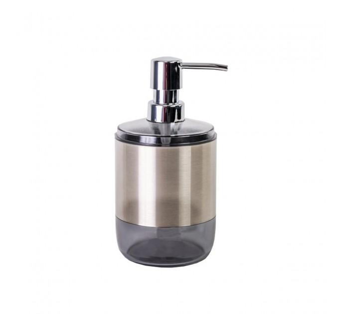 Дозатор для жидкого мыла Prima Nova LIMA XL, прозрачно-черный (SA06-25) - фото № 1