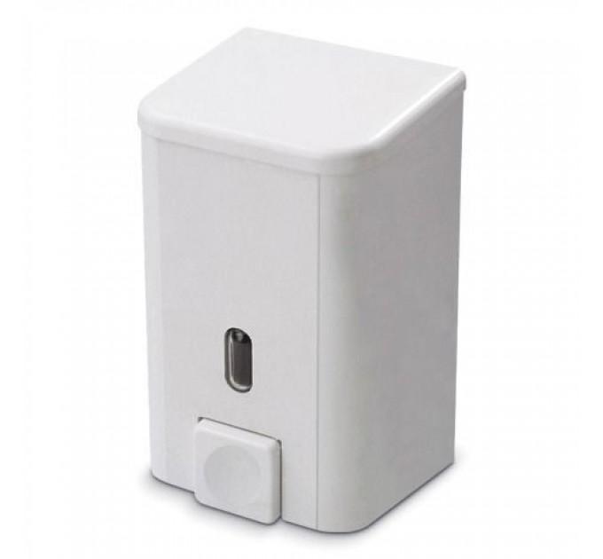 Дозатор для жидкого мыла Prima Nova BRAVO 1 л, белый (SD03) - фото № 1
