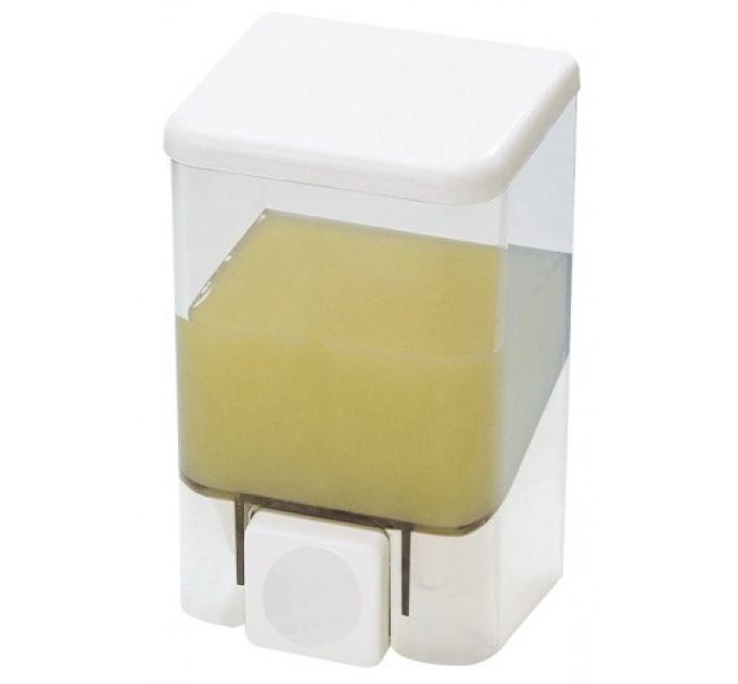 Дозатор для жидкого мыла Prima Nova BRAVO 0.5 л, прозрачный (SD02) - фото № 1