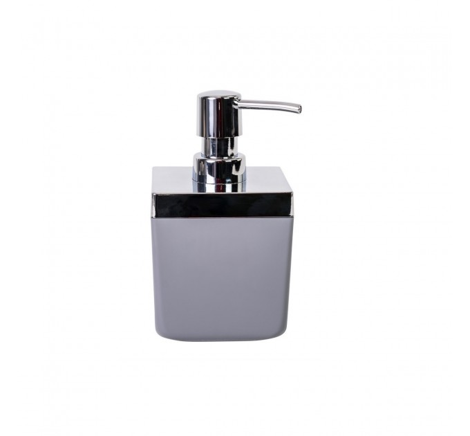 Дозатор для жидкого мыла Prima Nova TOSCANA, серый (SA01-07) - фото № 1