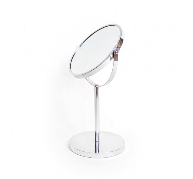 Зеркало косметическое d=20см Eco Fabric, хром (TRL1203-20)