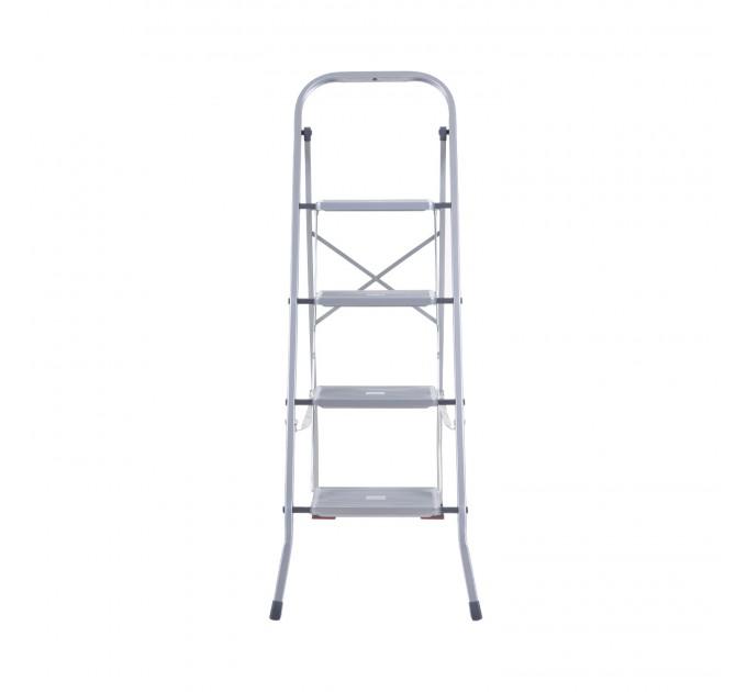 Лестница-стремянка Eurogold металлическая 4 ступ. (2104-C) - фото № 2