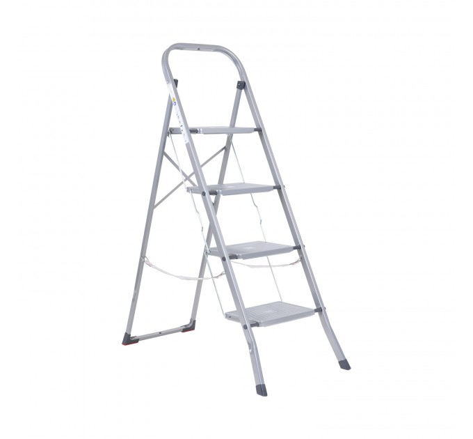 Лестница-стремянка Eurogold металлическая 4 ступ. (2104-C) - фото № 1