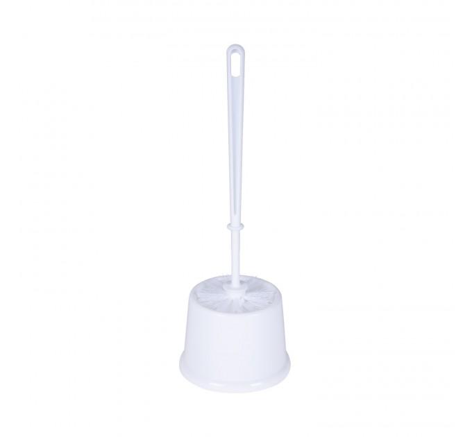 Ершик для унитаза Eco Fabric, белый (EF-4825W) - фото № 1