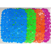 Коврик для раковины силиконовый Chaoya Камешки, цвета в ассортименте (012KM)