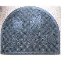Коврик под двери Гнивань полукруглый, резиновый (RMP02-4555-RO)