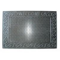 Коврик под двери Гнивань Welcome-1 42*60 см, резиновый (RMR09-4260-RO)