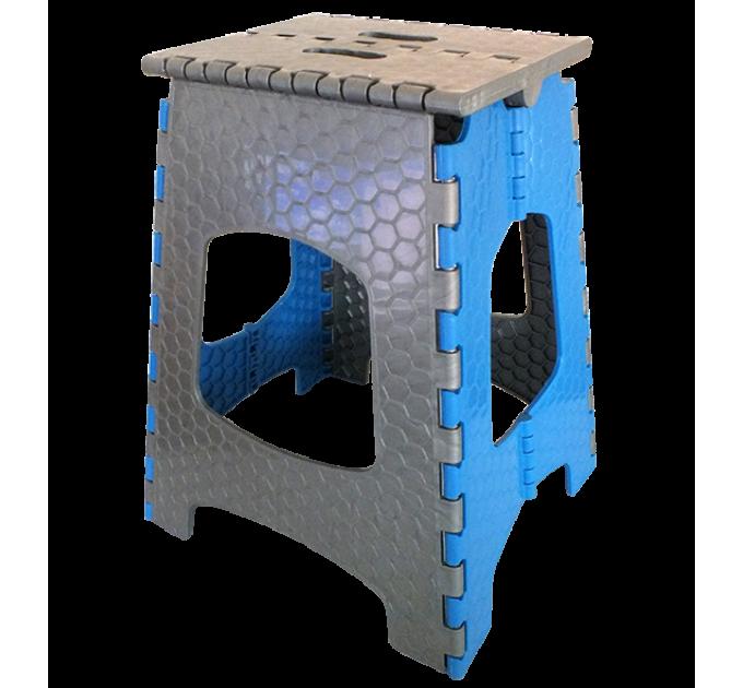 Стул раскладной Инструмент МП (2) высота 44.75 см, синий (CT-002) - фото № 1