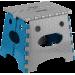 Стул раскладной Инструмент МП высота 26.9 см, бирюзовый (CT-006) - фото № 1