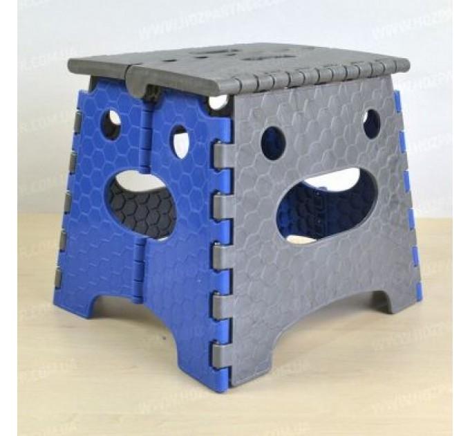 Стул раскладной Инструмент МП высота 26.9 см, синий (CT-005) - фото № 1
