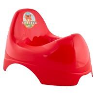 Горшок детский Алеана Бамбино, красный (122084)
