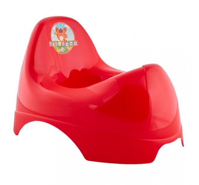Горшок детский Алеана Бамбино, красный (122084) - фото № 1