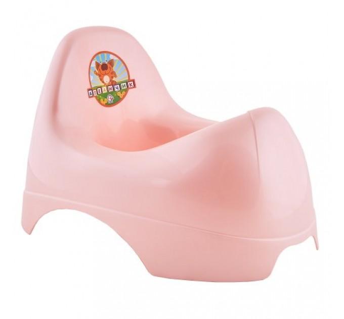 Горшок детский Алеана Бамбино, розовый перламутр (122084) - фото № 1