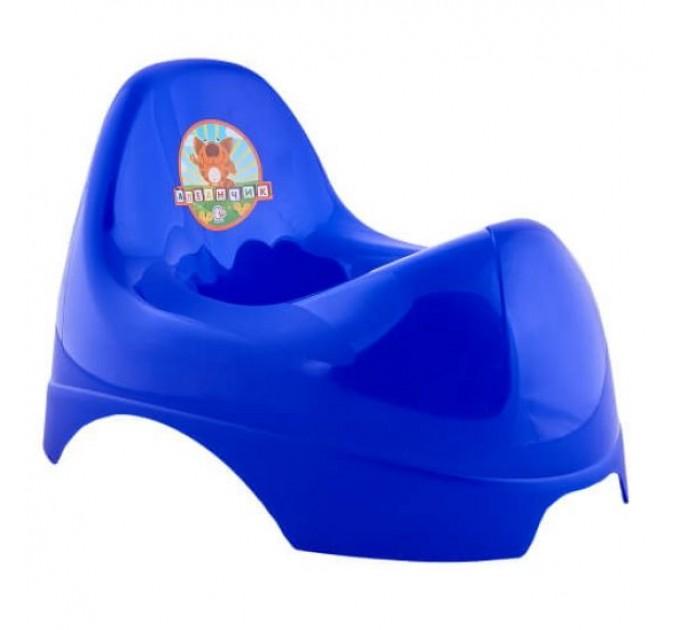 Горшок детский Алеана Бамбино, синий (122084) - фото № 1