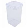 Емкость для сыпучих продуктов Алеана 1.3л, прозрачный/прозрачный PS (168025)