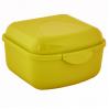 Контейнер универсальный Алеана XS 11.5*8.5*6см, желтый/прозрачный (168015)