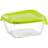 Емкость для хранения продуктов 0.25л ПРАКТИК IDEA, салатовый (М1466)
