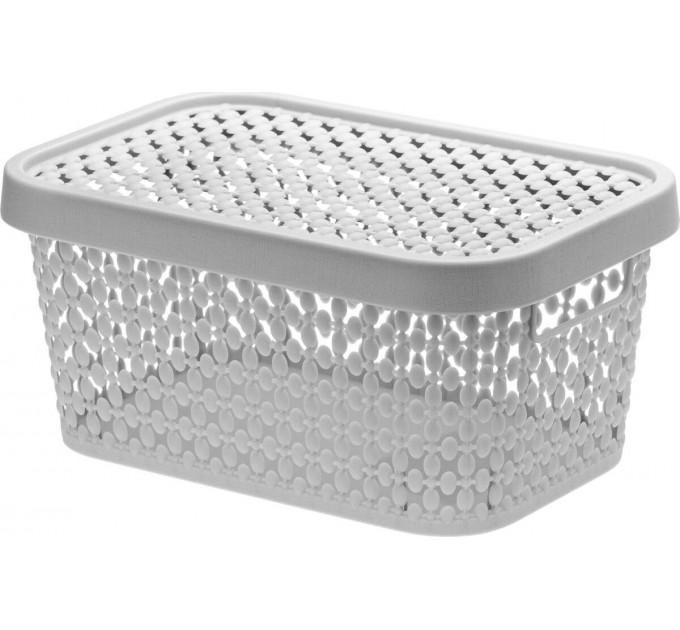 Коробка ПИРУЛА IDEA 1.5л с крышкой, смоки (М2347С) - фото № 1