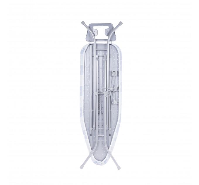 Гладильная доска 120*40 см Dogrular с розеткой и подрукавником (9995T) - фото № 5