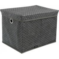 Короб для хранения вещей Тарлев VIVENDI 30*40*30см, Silver (51404604)