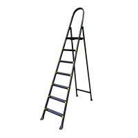 Лестница стальная усиленная ALOFT, 7 ступеней (DRSL-07)