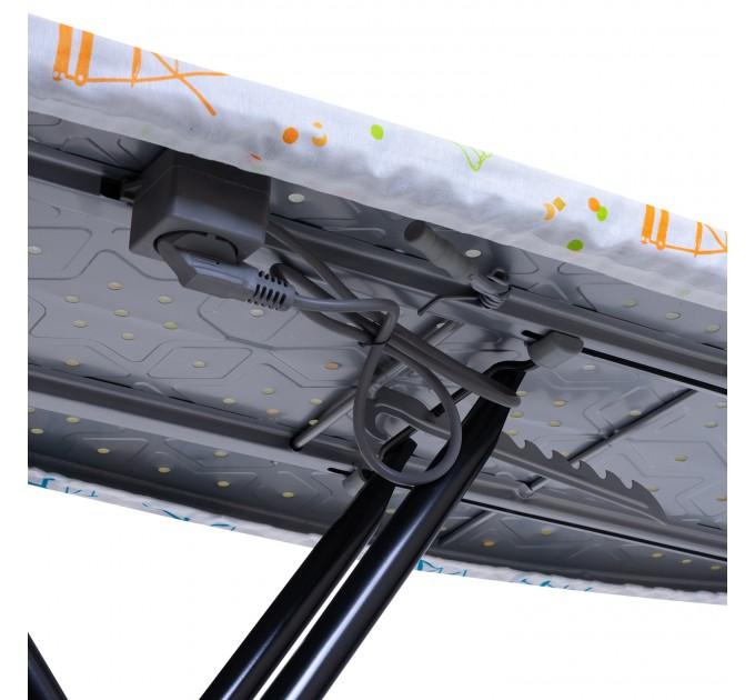 Гладильная доска 120*44 см Dogrular LIANA (15014-PLUG) с розеткой - фото № 6