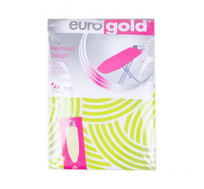 Чехол для гладильной доски 120*42 см Eurogold Premium Design (DC42F3) - фото № 1