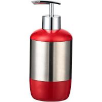 Дозатор для жидкого мыла Prima Nova, красный (E17-04)