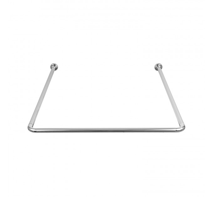 Карниз для ванной универсальный Probath, серебро (w0580) - фото № 2
