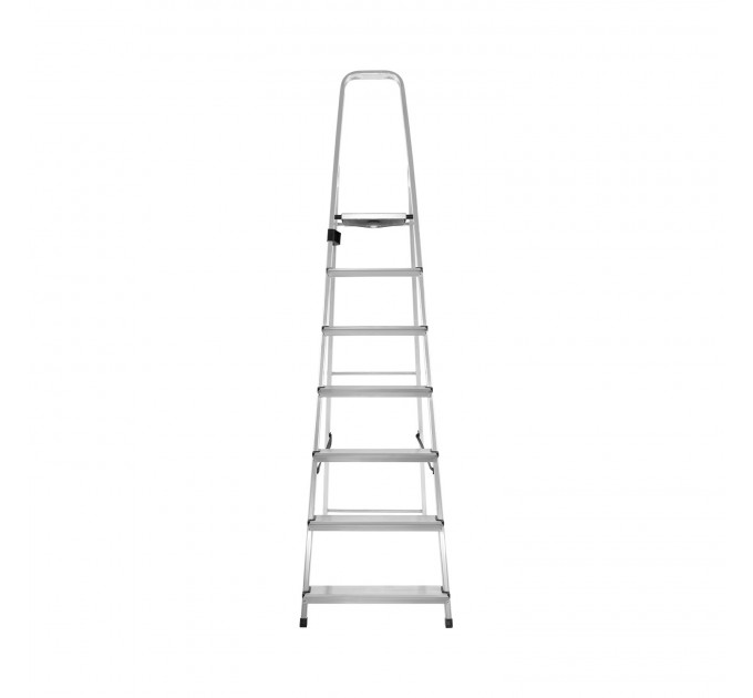 Лестница-стремянка Aloft алюминиевая, 7 ступ., DRALD-7 (10107A) - фото № 2