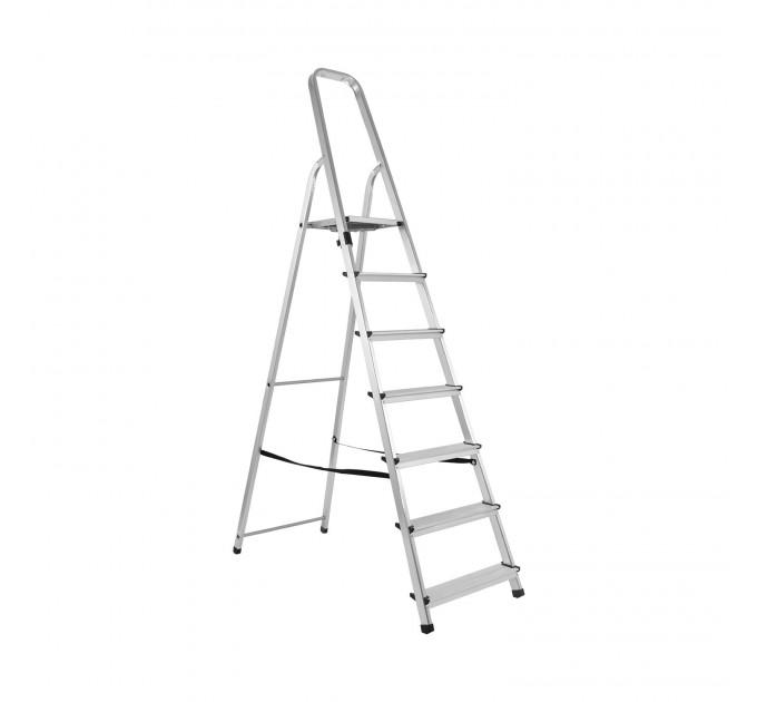 Лестница-стремянка Aloft алюминиевая, 7 ступ., DRALD-7 (10107A) - фото № 1