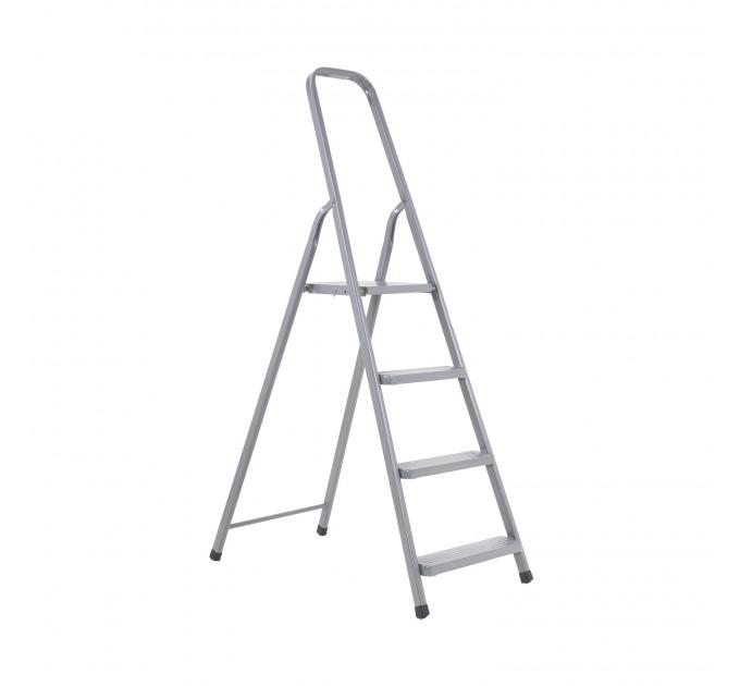Лестница-стремянка Aloft стальная, 4 ступ. (DR-ST-D4) - фото № 1