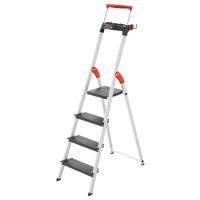 Лестница-стремянка Hailo L100 TopLine алюминиевая, 4 ступ. (8050407)