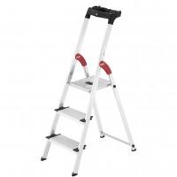 Лестница-стремянка Hailo L80 ComfortLine алюминиевая, 3 ступ. (8040307)