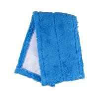 Насадка для швабры Eco Fabric из микрофибры 42 см, синяя (EF1902Blue)