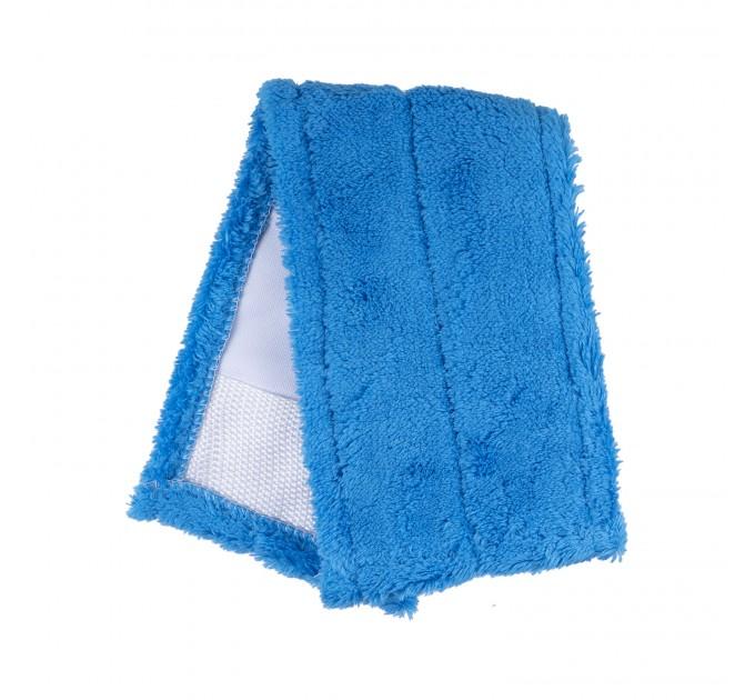 Насадка для швабры Eco Fabric из микрофибры 42 см, синяя (EF1902Blue) - фото № 1