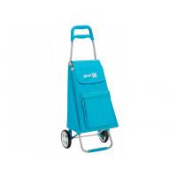 Сумка хозяйственная на колесах Gimi 45л ARGO, небесно-голубой (GM18938)