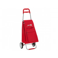 Сумка хозяйственная на колесах Gimi 45л ARGO, красный (GM10604)