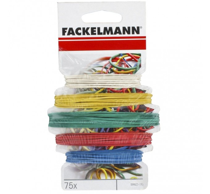 Резиновые кольца Fackelmann 75 шт. (59923) - фото № 1