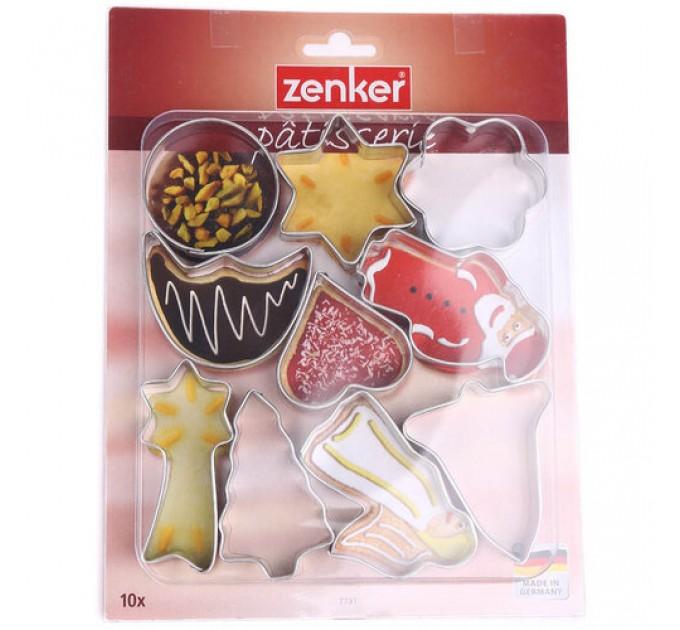 Формы для вырезания печенья Fackelmann 10шт, сталь (7731) - фото № 1