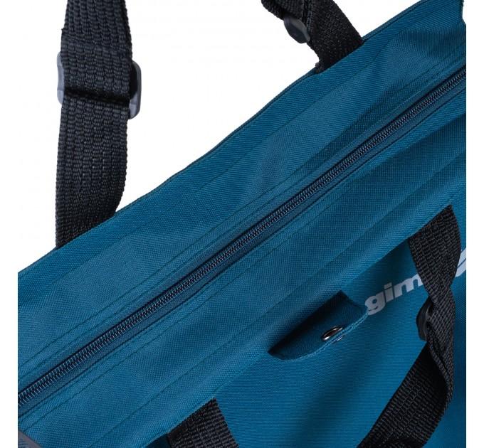 Сумка хозяйственная на колесах 38л Gimi BRAVA PLUS, синий (GM23451) - фото № 9