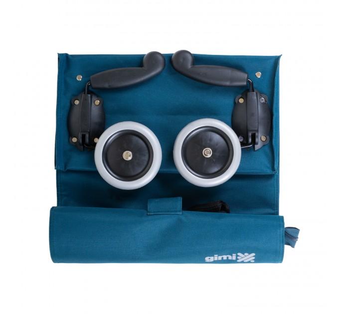 Сумка хозяйственная на колесах 38л Gimi BRAVA PLUS, синий (GM23451) - фото № 10