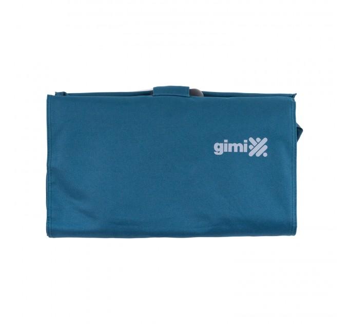 Сумка хозяйственная на колесах 38л Gimi BRAVA PLUS, синий (GM23451) - фото № 4