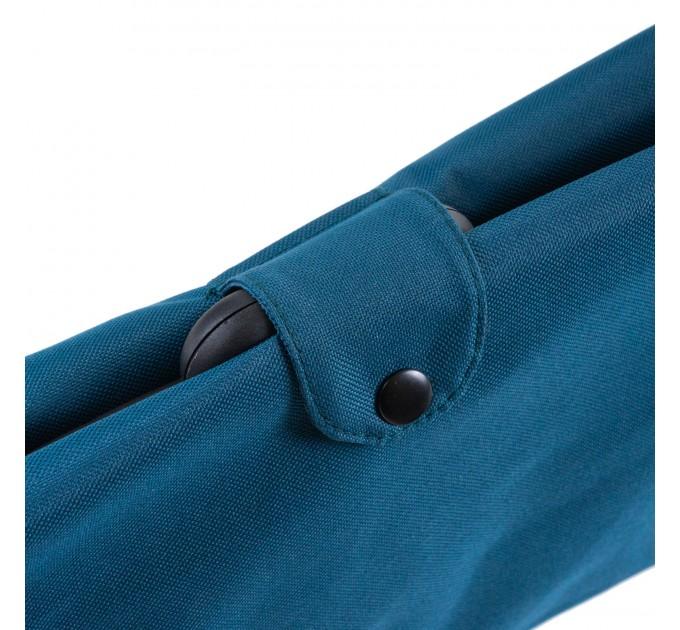 Сумка хозяйственная на колесах 38л Gimi BRAVA PLUS, синий (GM23451) - фото № 5