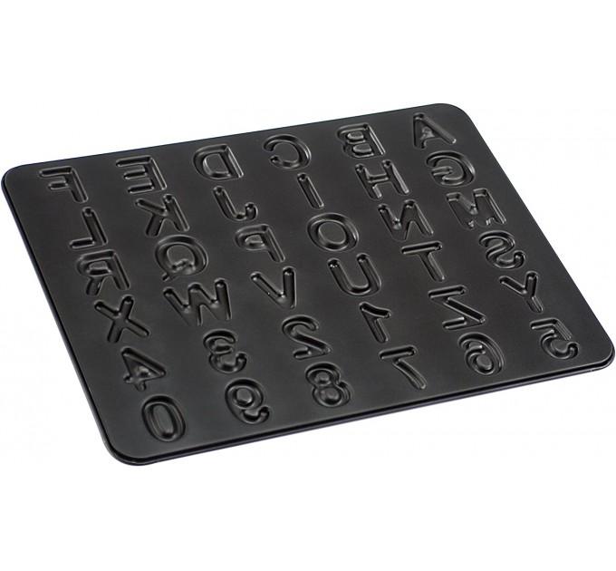 Форма для выпечки печенья Fackelmann ZENKER Буквы 42*32.5 см с антипригарным покрытием, сталь (7422) - фото № 1